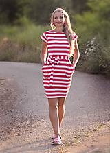 Šaty - Vreckové šaty Clown - S/M - 10899123_