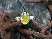Prstene - Strieborný prsteň Ag925 Zafír - 10898070_