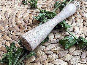 Pomôcky - Kokteilový drvič drevený - 10899585_