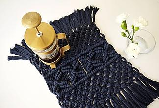 Úžitkový textil - Macramé prestieranie - 10897987_