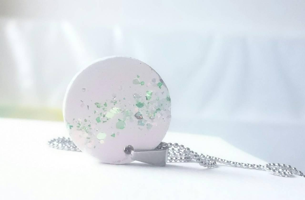 Náhrdelníky - Betónový náhrdelník  - 10897988_