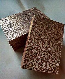 Krabičky - krabičky Tádž Mahall - 10899019_