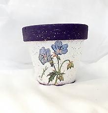 Nádoby - kvetináč lúčne kvety - 10900168_