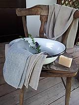 Úžitkový textil - Sada Natural Linen Natur - 10899729_