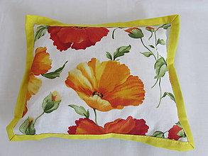 Úžitkový textil - Nahrievací vankúšik zelený - 10902602_