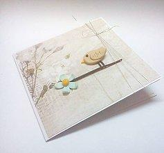 Papiernictvo - Pohľadnica ... štebotanie - 10901856_