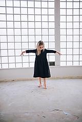 Detské oblečenie - Zoja šaty čierne - 10900744_
