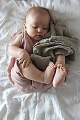 Detské oblečenie - Matej overal staroružový - 10901589_