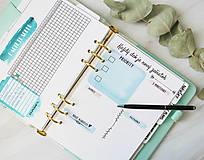 Papiernictvo - Plánovače - denný, týždenný a mesačný (Náplň do diára) PDF - 10900852_