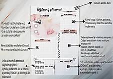 Papiernictvo - Plánovače - denný, týždenný a mesačný (Náplň do diára) PDF - 10900859_