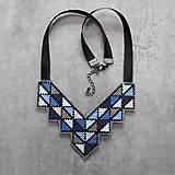 Náhrdelníky - geometry - 10903301_