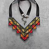 Náhrdelníky - geometry - 10903306_