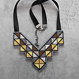 Náhrdelníky - geometry - 10903314_