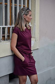 Šaty - Šaty vínové - vyberte si svou barvu !! - 10902870_