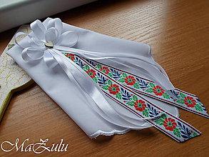 Pierka - FOLK svadobné pierko pre starejšieho - 10902046_