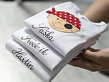 Detské oblečenie - NÁPIS na body alebo tričko - 10902201_