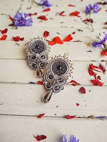 Náušnice - Vintage Wedding earrings n.3- sutaškové náušnice - 10900481_