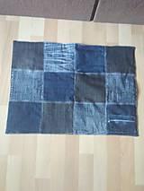 Úžitkový textil - Riflový koberec - 10902071_