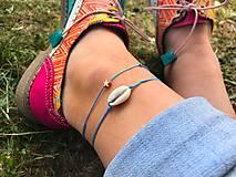 Náramky - VÝPREDAJ - DUO náramkov na nohu - 10901922_
