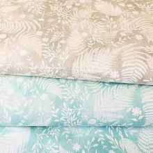 Textil - papradie, 100 % bavlna Francúzsko, šírka 150 cm - 10900702_