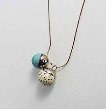 Náhrdelníky - Tana šperky - keramika/platina - 10903134_