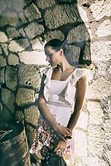 Šaty - Biely mini šaty Poľana - 10902632_