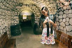 Šaty - Biely mini šaty Poľana - 10902633_