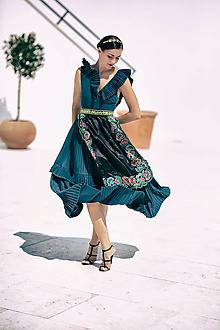 Šaty - Plisované šaty Poľana - 10902714_