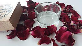Svietidlá a sviečky - Sklenený svietnik na čajové sviečky - 10901617_