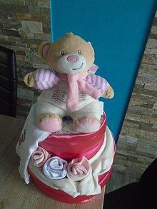Detské doplnky - Plienková torta - 10900469_