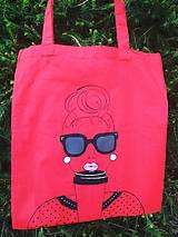 Nákupné tašky - Ručne maľovaná taška - Mode - 10902586_