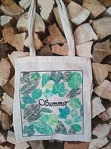 Nákupné tašky - Ručne maľovaná taška - Summer - 10902583_