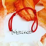 Náramky - Náramok Mama - 10901233_
