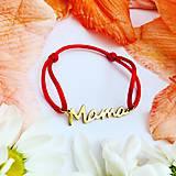 Náramky - Náramok Mama - 10901268_