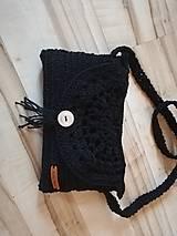 Kabelky - Háčkovaná kabelka - 10902335_