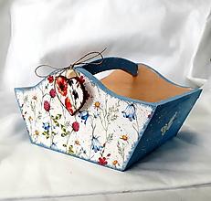 Košíky - košíček lúčne kvety - 10903620_