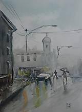 Obrazy - V daždi - 10902331_