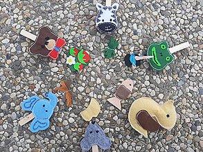 Hračky - Montessori štipce. - 10902197_
