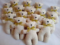 Darčeky pre svadobčanov - Medvediky pre najmenších svadobčanov - 10900507_