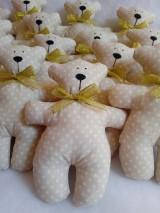 Darčeky pre svadobčanov - Medvediky pre najmenších svadobčanov - 10900508_