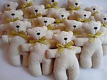 Darčeky pre svadobčanov - Medvediky pre najmenších svadobčanov - 10900511_