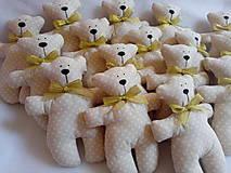 Darčeky pre svadobčanov - Medvediky pre najmenších svadobčanov - 10900512_