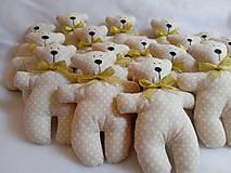 Darčeky pre svadobčanov - Medvediky pre najmenších svadobčanov - 10900515_