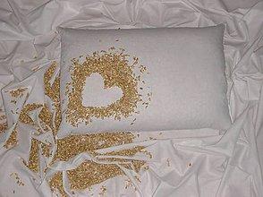 Úžitkový textil - Špaldový vankúš 40x60cm - 10903756_