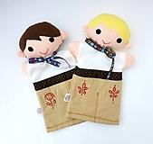 Hračky - Maňuška folk chlapec - na objednávku - 10905187_