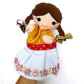 Hračky - Maňuška folk dievčinka - na objednávku - 10905196_