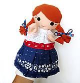 Hračky - Maňuška folk dievčinka - na objednávku - 10905197_