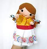 Hračky - Maňuška folk dievčinka - na objednávku - 10905201_