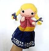 Hračky - Maňuška folk dievčinka - na objednávku - 10905203_