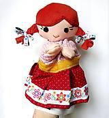 Hračky - Maňuška folk dievčinka - na objednávku - 10905205_